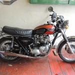 a Triumph Motocycle