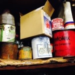 Tins and boxes full of useful things