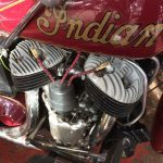 Harley  Davidson Indian logo on petrol tank