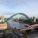 A view of the Tyne Bridge