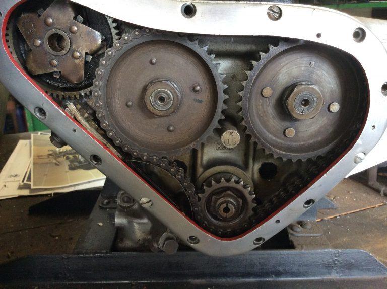 Internal view of a Gear Box