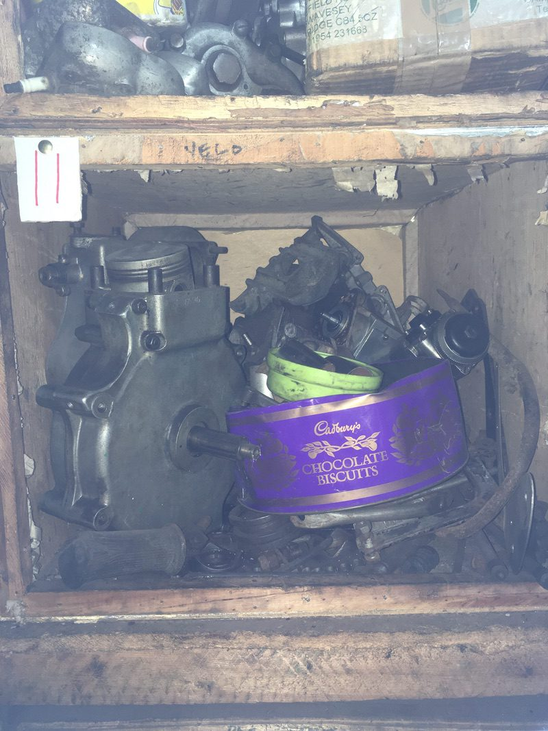 Tea Chest 11. Velocette Department – MSS.etc