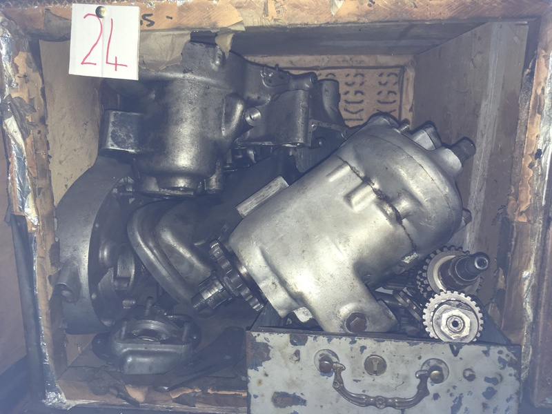 Tea Chest 24. BSA A65 and Albion gearbox