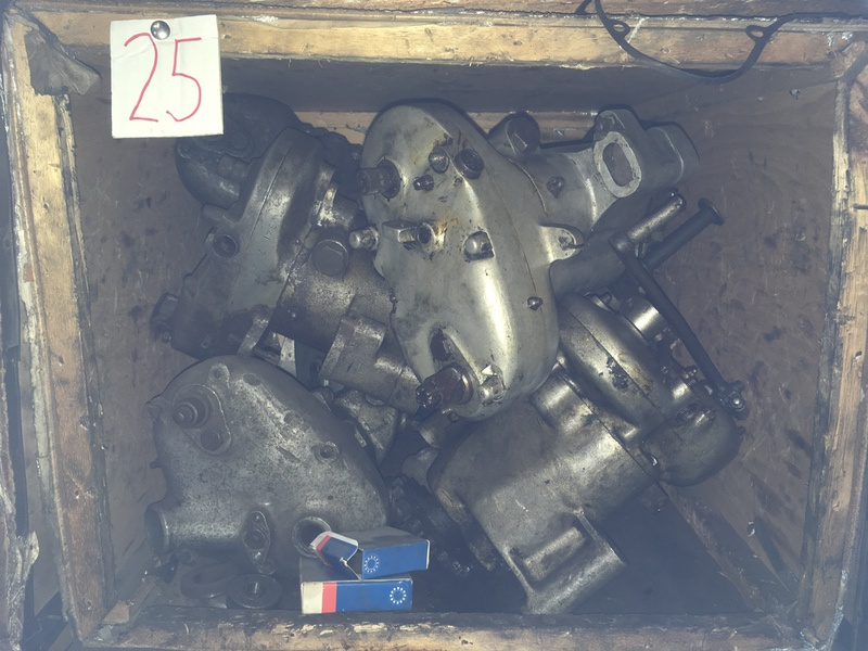 Tea Chest 25. Albion gearboxes