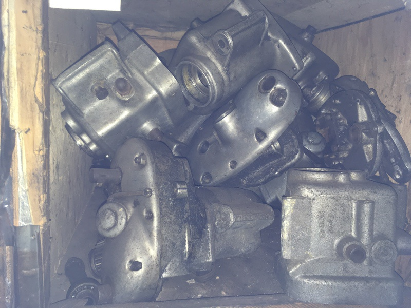 Tea Chest 26. Triumph pre-unit gearboxes
