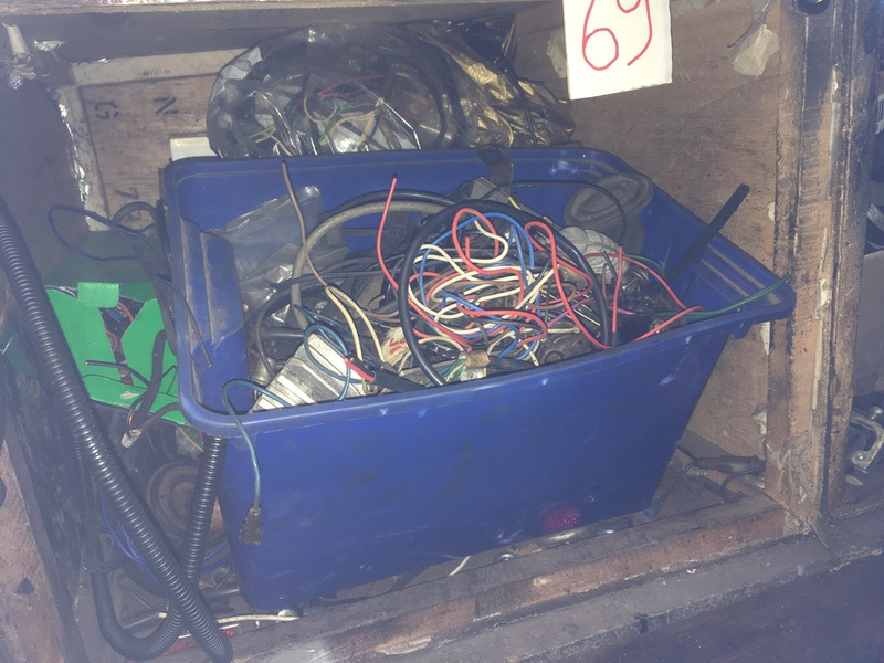 Tea Chest 69. Electrical components