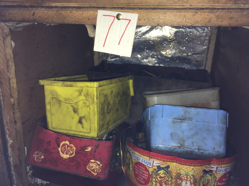 Tea Chest 77. Nuts and bolts